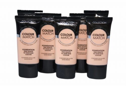 12 x Collection Colour Match Foundation Tubes | Cool Beige | RRP £36 | Wholesale